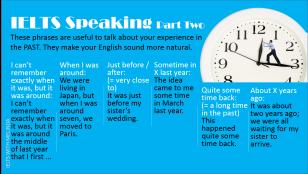 SPEAKING TIPS - TEST Pt 2