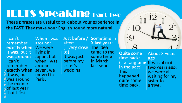 SPEAKING TIPS - TEST Pt 2