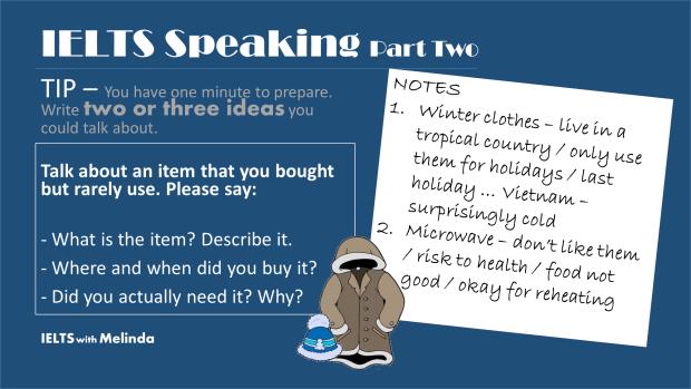 IELTS speaking e