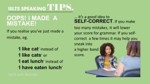 IELTS SPEAKING TIP 4