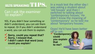 IELTS SPEAKING TIP 2