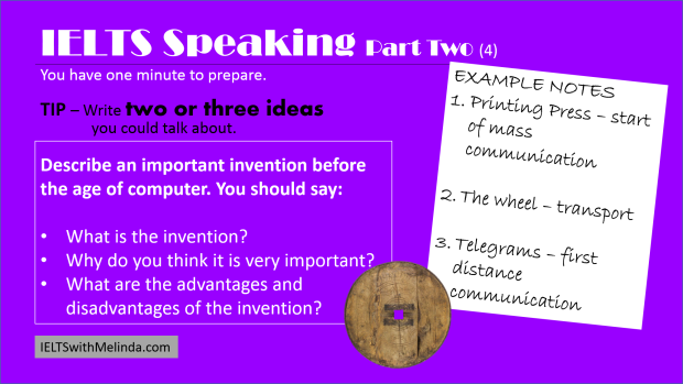Practise IELTS speaking