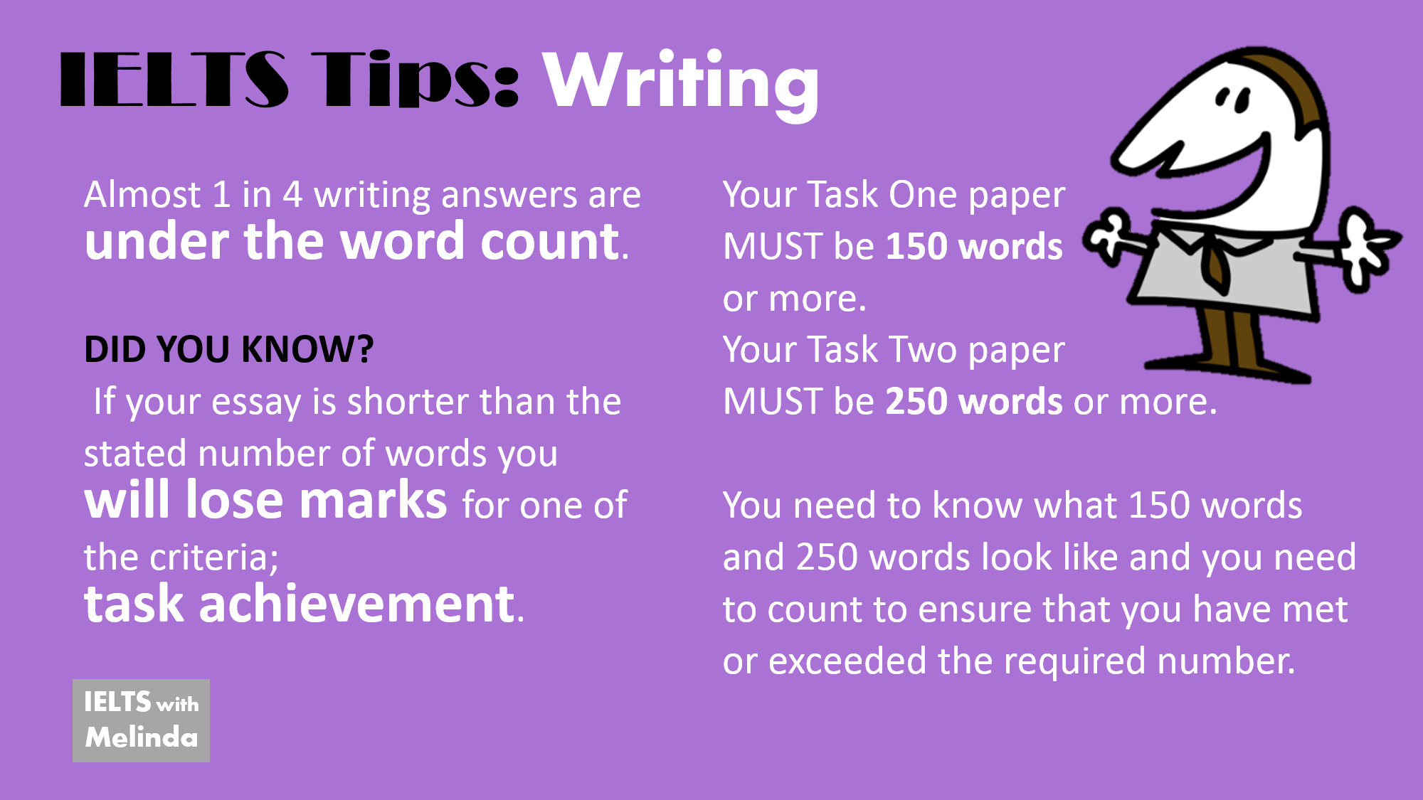 Academic writing help of ielts tips