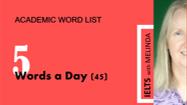 Academic Word List, Sublist 4