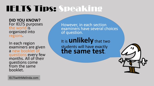 IELTS SPEAKING TIP 8